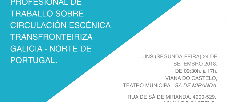 ENCONTRO EN VIANA DO CASTELO SOBRE CIRCULACIÓN ESCÉNICA GALICIA - NORTE DE PORTUGAL