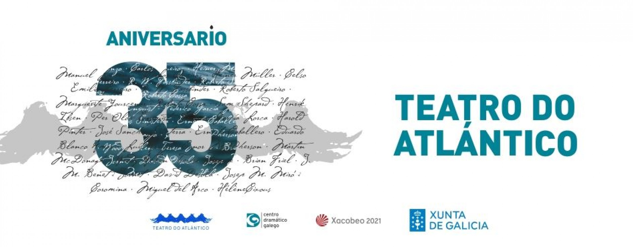 Teatro do Atlántico celebra o seu 35º aniversario enriba das táboas do Salón Teatro compostelán con catro das súas últimas propostas
