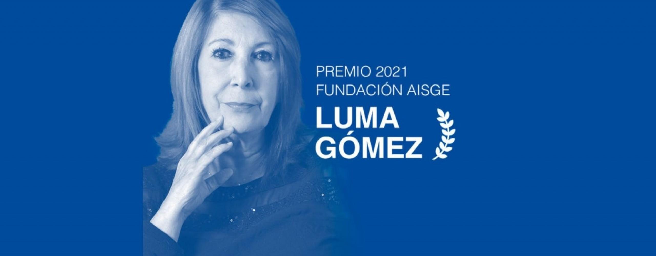 Luma Gómez, Premio de Honra da Fundación AISGE no festival de cinema de Ourense (OUFF)