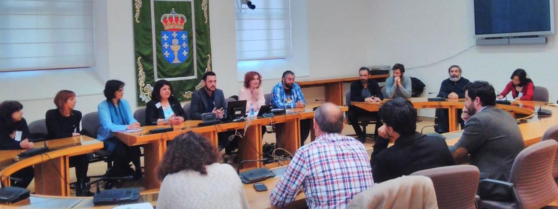 Presentación en el Parlamento de Galicia del anteproyecto de Ley de las Artes Escénicas